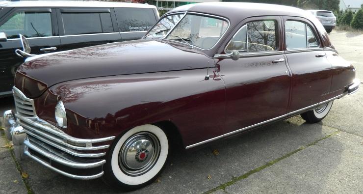 A 1948 Packard Eight - a