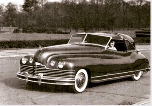 Before Chevrolet's Monte Carlo, there was the PACKARD Monte Carlo ...
