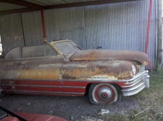 It's a mystery: where did this '48 convertible with Monte Carlo trim come from and where is it now? Has it been restored? There is no record of a convertible version of Arbib's '48 Monte Carlo having been built.