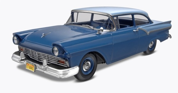 Dresden Blue 57 Ford