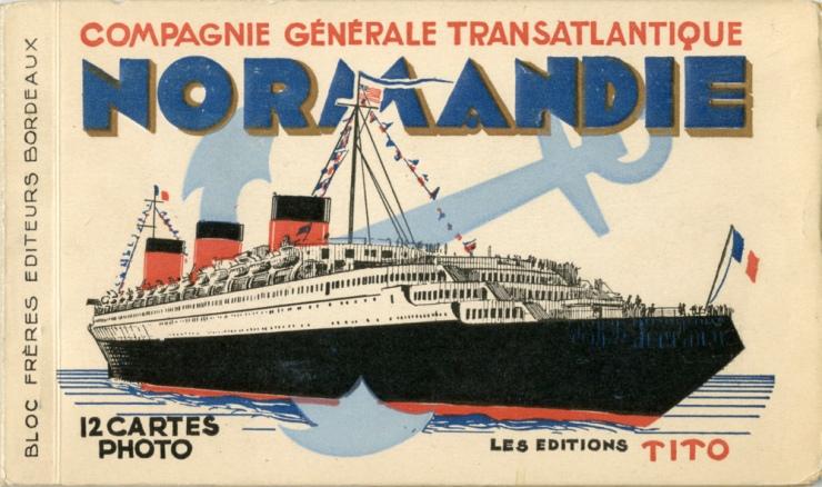 Normandie carte-postale