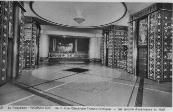 Normandie interior