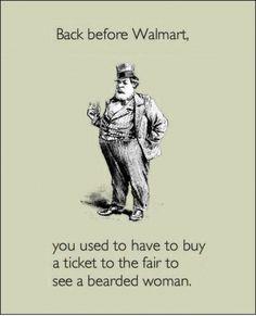 Before Walmart