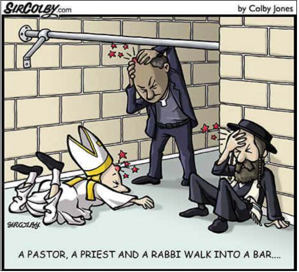 Pastor, Priest & Rabbi