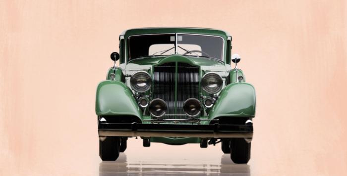 34 Packard Twelve front