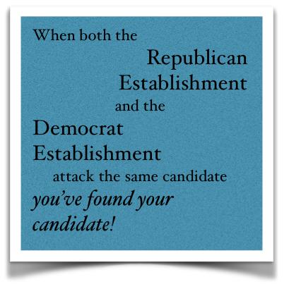 Establishment attack