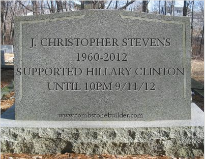 Chris Steven's tombstone