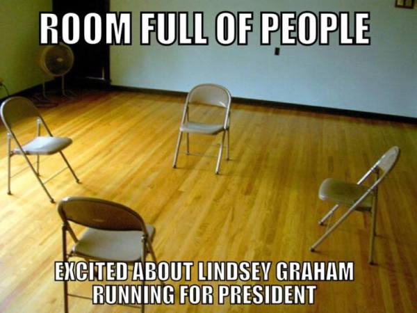 Graham supporters