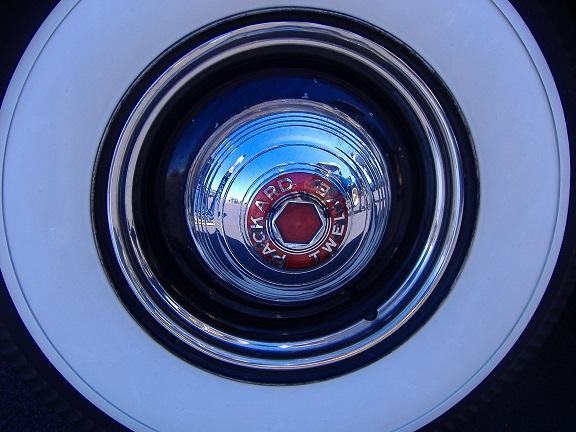 '39 Packard Twelve hub cap