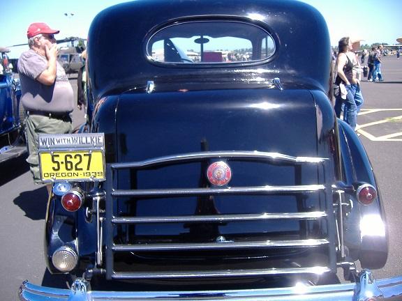 '39 Packard Twelve - rear