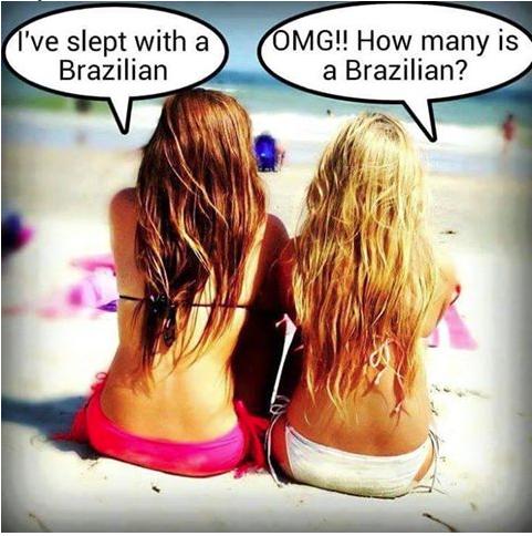 Blondes:Brazilian