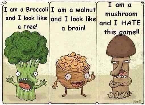 Look-alike veggies