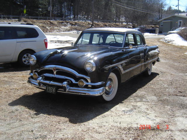 MY 53 PACKARD & out the kitchen window 019