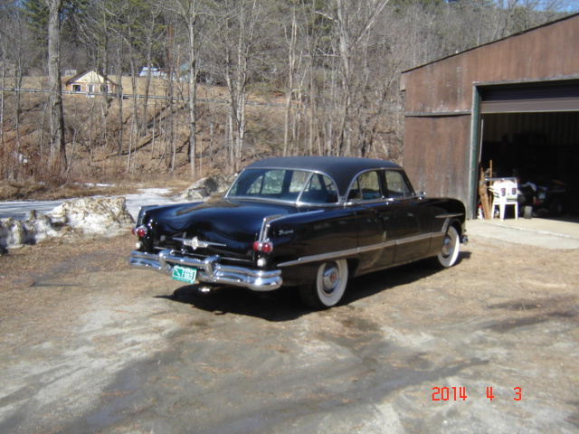 MY 53 PACKARD & out the kitchen window 024