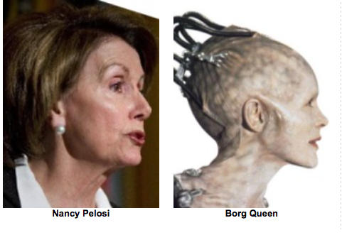 Separated at Birth - Pelosi