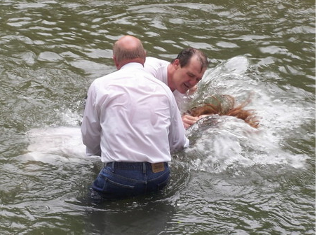 Baptizing an Irishman