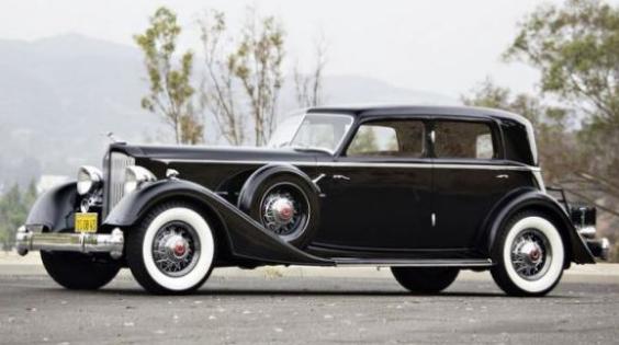 '34 Packard Twelve - Dietrich Individual Custom Sport Sedan/ls