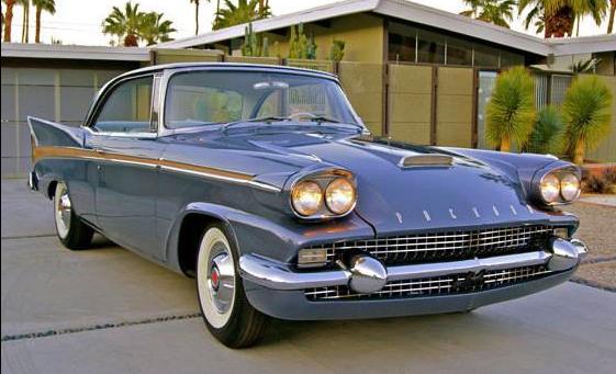 58 Packard Starlight front