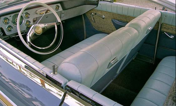 58 Packard Starlight interior
