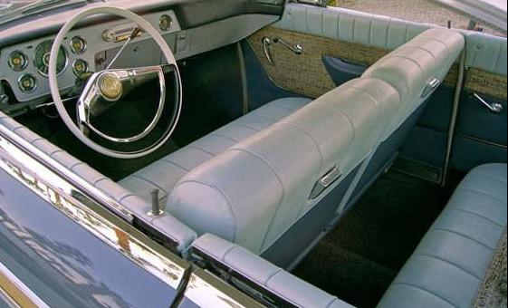 58 Packard Starlight interior