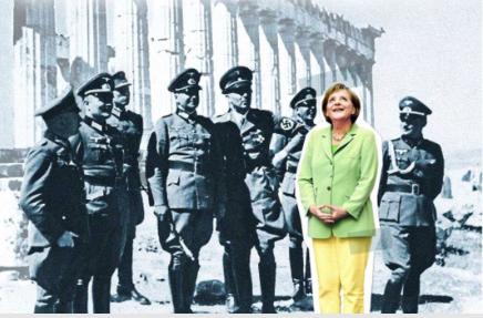 Angela Merkel Übermacht