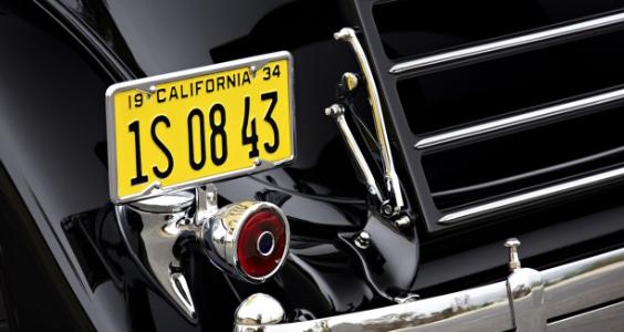 '34 Packard Twelve - rear