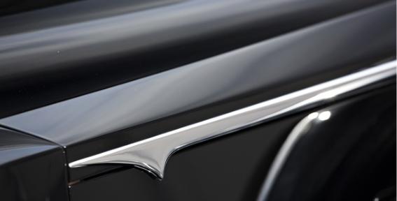 '34 Packard Twelve belt moulding