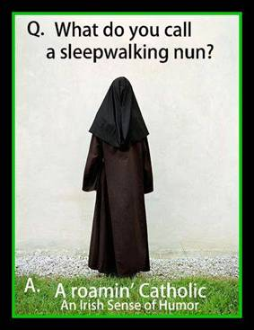 Sleepwalking nun
