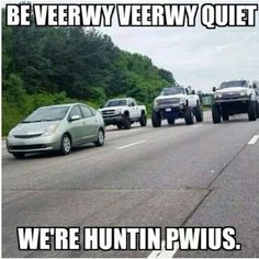 Hunting Prius