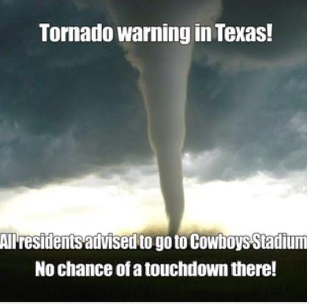 Texas tornado warning