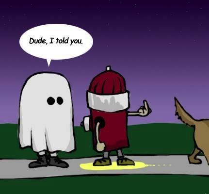 Halloween fireplug