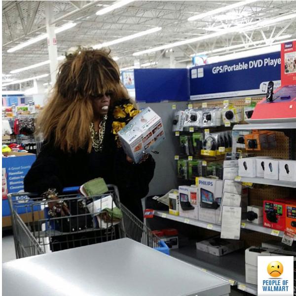 Walmartian Halloween