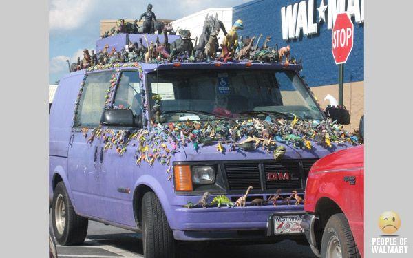 Walmart car show VI