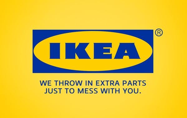 IKEA extra parts