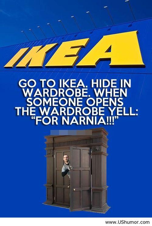 IKEA-Narnia