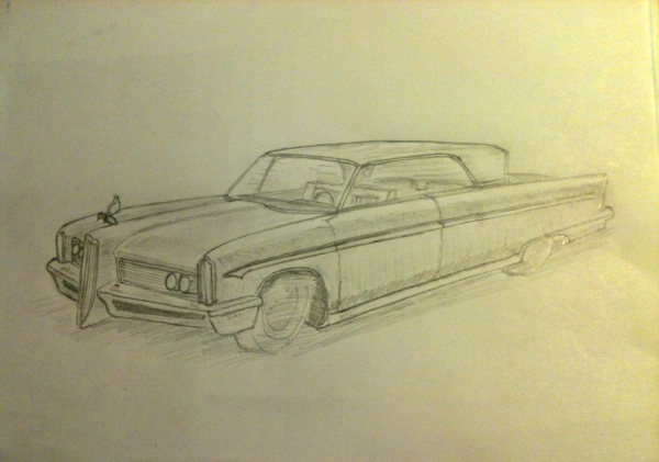 My design in 1960 for a new Packard