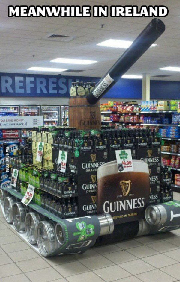 Meanwhile, in Ireland