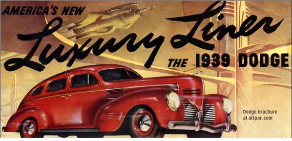 1939 Dodge Luxury LIner