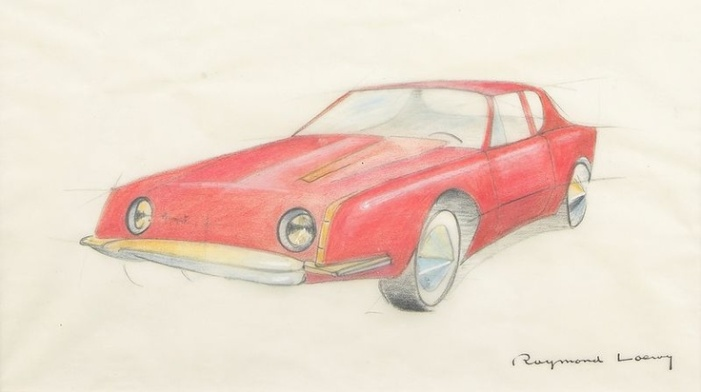 Loewy Avanti sketch