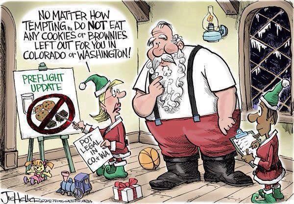 Santa's pre-flight instructions