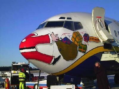 Santa - SPLAT!