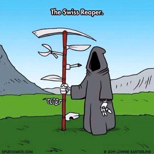 Swiss Reaper