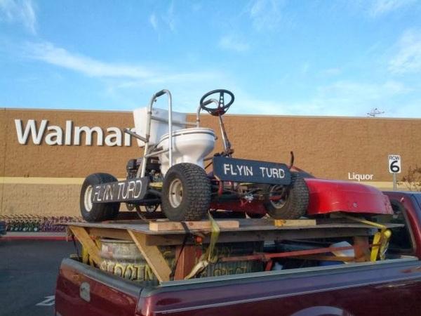 Walmart car sho