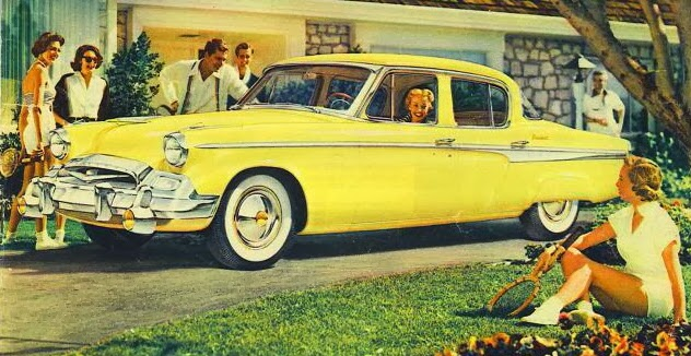 1955 Studebaker President (early)
