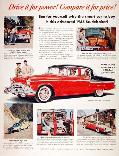 1955 Studebaker President Ultravista