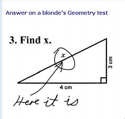 Blonde:Geometry Test