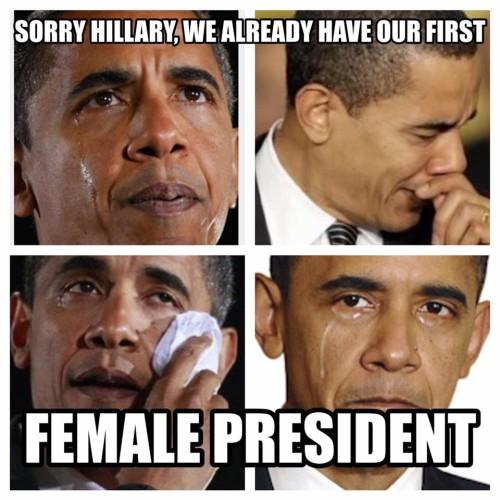 Obama/Female President