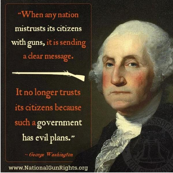 Geo. Washington on guns