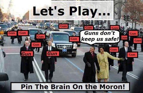 Obama/Guns Don't Keep Us Safe