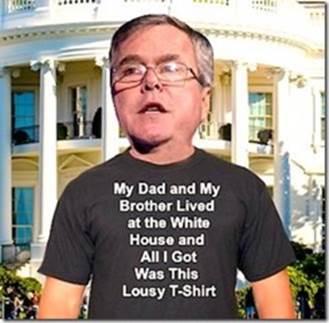Jeb!'s t-shirt